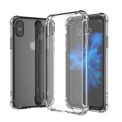 For Apple iPhone X8 PLUS Case Silicone Clear Cover Bumper Rubber Protective LOT