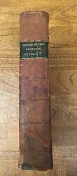 Law, Statutes Mississippi Territory, Leatherbound, 1816
