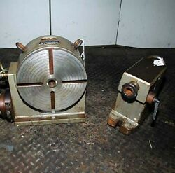 Hoffman Rotary Table For Nc Machining Type Wrnc 250 Inv.11381