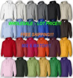 Gildan 18500 Wholesale Lot Price, White Or Colors Mixandmatch Hoodie New On Sale