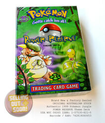 Pokemon Theme Deck 1999 New Rare Get Actual Pack In Pic Jungle Power Reserve