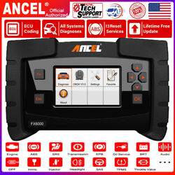 Auto Abs Tpms Immo Dpf Car Scanner Obd2 Full System Diagnostic Esp Acc Oil Reset