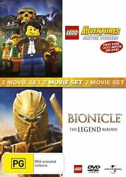 Bionicle: the Legend Reborn  Lego: the Adventures of Clutch Powers - DVD Region