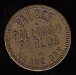 Palace Billiard Parlor Glace Bay Good For 25 Cents In Trade