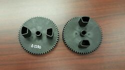 R-2280 John Deere Brinly-hardy Sts 42-in Lawn Sweeper 60-tooth Gears - Set Of 2