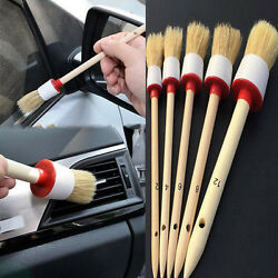 5 X Soft Bristle Brush Automobile Dash Board Air-condition Console Cleaning Tool