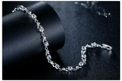 NEW 18K Silver Plated Luxury Bracelet