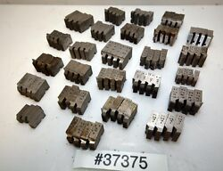 One Large Lot Of Geometric Die Head Chasers Inv.37375