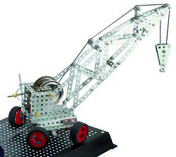 Crane Kit Wilesco K120 Live Steam Engine Toy Erector Kit- Shipped From Usa
