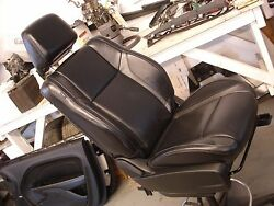 15-16 Dodge Challenger Passenger Right Front Bucket Seats Leather Manual Used