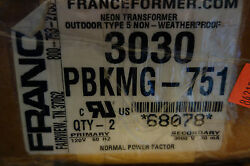 France Electric Sign Repair Parts 3030 Pbkmg 51 Outdoor Type 2 Neon Transformer