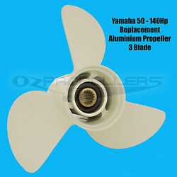 12 5/8 X 21 K For Yamaha Propeller New Suits 50-60-70-80-90-100-115-140hp