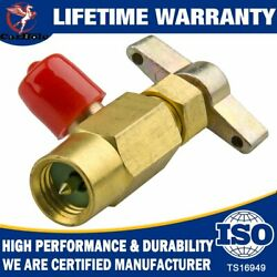High Quality New R-134a R-134 Ac Brass Can Tap Dispensing Valve Thread 1/2 Acme