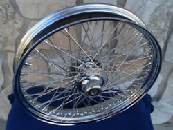 21x3 80 Spoke Kcint Dna Front Wheel 2000-06 For Harley Deluxe Fat Boy Heritage