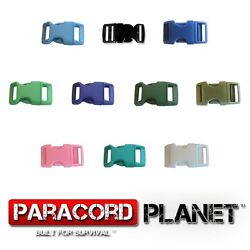 5/8 Side Release Buckles For 550 Paracord Rope Bracelets Single-100 Packs