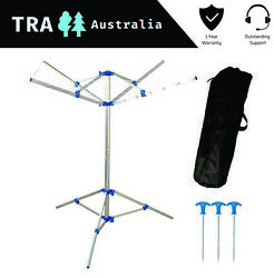 Portable Clothes Line With Carry Bag Caravan Rv Accessories Camping Home Hanger