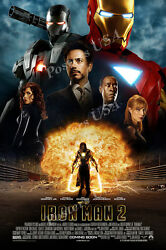 Posters Usa - Marvel Iron Man 2 Movie Poster Glossy Poster Iron Man Ii - Fil287