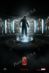 Posters Usa - Marvel Iron Man 3 Movie Poster Glossy Poster Iron Man Iii - Fil296