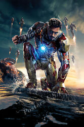 Posters Usa - Marvel Iron Man 3 Movie Poster Glossy Poster Iron Man Iii - Fil292
