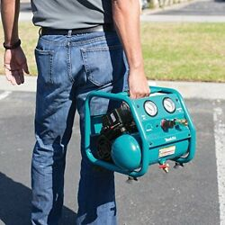 Makita Compact Air Compressor Tools Home Job Site Motor Pump Low noise 23.1 lbs.