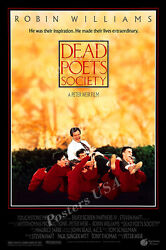 Posters Usa - Dead Poets Society Robin Williams Movie Poster Glossy - Fil487