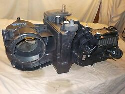 02-04 Jeep Wrangler climate control defrost heater box housing NO AC