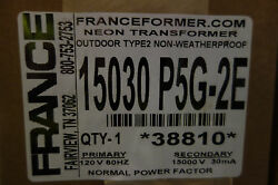 France 15 030 P5g2e Outdoor Type 2 Electric Sign Repair Parts Neon Transformer
