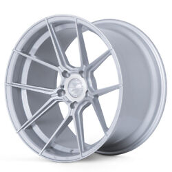 20 Ferrada F8-fr8 Silver Forged Concave Wheels Rims Fits Dodge Challenger Rt Se