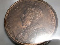 1913 Canada Iccs Graded Red One 1 Cent Mint State 64 Large Penny Coin B278