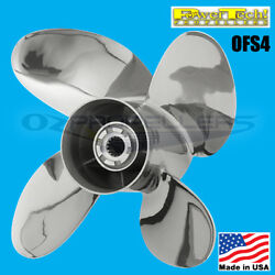 15 1/4 X 18 Honda 115-225hp Power Tech Stainless Propeller Ofs4 Blade Prop