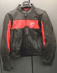 Leather Jacket Ducati Company By Revand039it 981019204 Size Xl In Offer Red