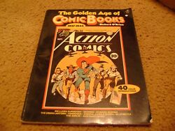 The Golden Age Of Comic Books, 1937-1945 By Richard O'brien 1977, Paperback