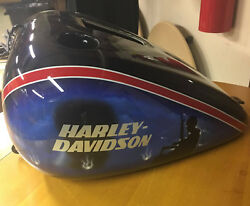 Harley Davidson Limited Edition Numbered Fatboy Marine Corp Factory Paint Kit