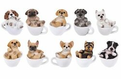 Mini Teacup Puppy Dog Pet Pals Collectible Figurine Miniature 3