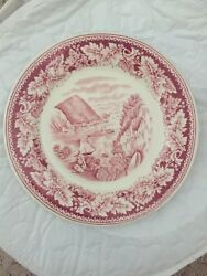 Original Antique Currier And Ives Entire Table Setting