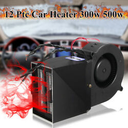 12V 300500W Portable Car Auto Heating Heater Warmer Window Defroster Demister