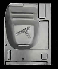 Fordmercury Retractable And Convertible Rear Floor Pan Right 1957-1959