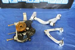 2014 NISSAN GTR R35 AWD OEM FACTORY LH FRONT DRIVER SPINDLE & ARMS ASSY #1082