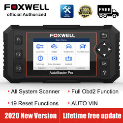 Foxwell Nt644 Elite Auto Car Obd2 Scanner Diagnostic Tool Srs Dpf Oil Immo Tpms