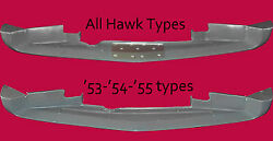Studebaker C/k Coupe And Hawk 1953,1954,1955 Front Lower Air Deflector