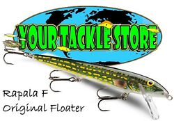 Rapala F11 Original Floater Pick Color And Qty Nip Factory Direct