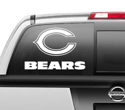 Chicago Bears Window Sticker Vinyl Decal Any Size Any Color