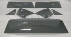 1968 1969 1970 Dodge Plymouth 2 Door Sedan Glass Vent Door Quarter Back Set Grey