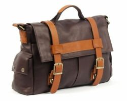Claire Chase Sochi Leather Messenger Bagandnbspcafandeacute With Saddle15 X 11 X 4andnbsp