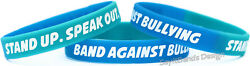 50 Band Against Bullying Wristbands - In Stock Ready To Ship Anti Bully Bands