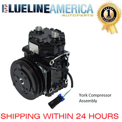NEW AC YORK COMPRESSOR 0073 FIT ABPN83304141T FREIGHTLINER (York 210 wz Clutch)