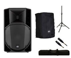 RCF ART 732-A MK4 Active Speaker Monitor + Cover + Stand + Bag + Mogami Cable