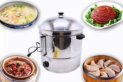 New Commercial 48 L Commercial Temperature Controller Food Steamer Snack Steamer