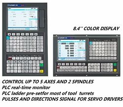 Gsk 980 Cnc Control For Lathe C Axisturning Center Dual-spindle Analog Mpg