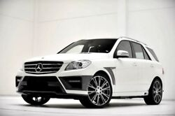 New Mercedes Benz ML W166 AMG Line BRABUS Conversion Kit
